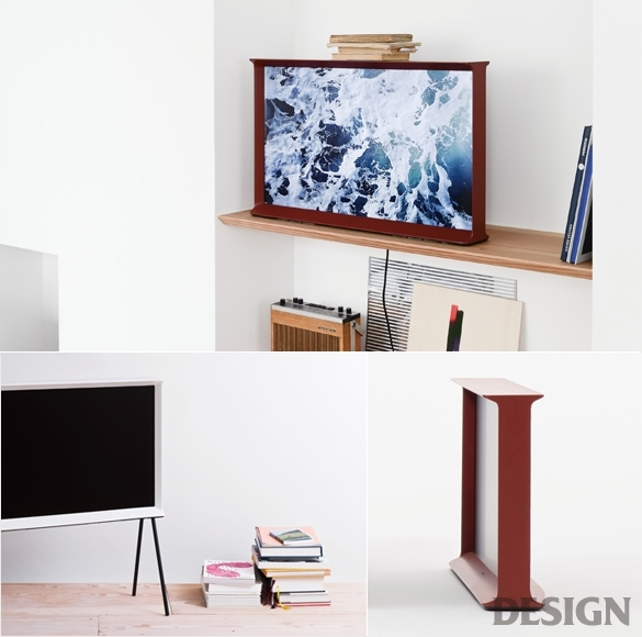 월간 디자인 : 삼성 세리프 TV  매거진  DESIGN