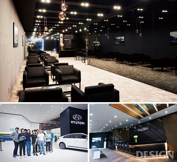월간 디자인 : 아트포인트 2016 부산국제모터쇼 현대자동차관