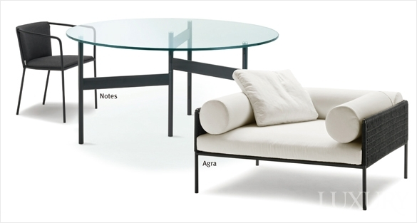 LUXURY 다양한 기능성을 물론 세련된 디자인까지 갖춘 Outdoor Furniture