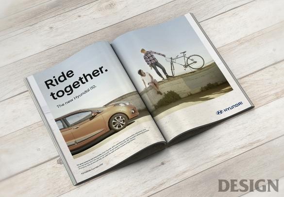 월간 디자인 : 현대자동차 브랜드 이미지 디자인  매거진  DESIGN
