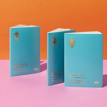 노르웨이의 매력적인 새 여권 디자인